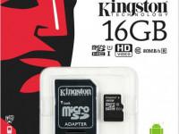 Карта памяти MicroSDHC 16 Gb Kingston
